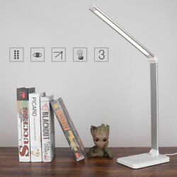 LED Desk Lamp Flexible Table Light Color Temperature Adjustable Lamp Timer C $44.35