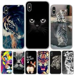 Phone Case For iPhone X 8 8Plus 7 6 6S Plus 5S SE Cool Tiger Owl Cat Dog Covers $8.99
