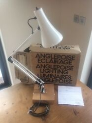RARE Boxed ANGLEPOISE Model 90 Desk Lamp Light MINT Original Packaging Paperwork