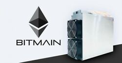 Five (5) Bitmain Antminer E3 with APW3++ power supply. In Excellent Condition