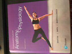Fundamentals of Anatomy & Physiology Textbook 11th edition  $150.00