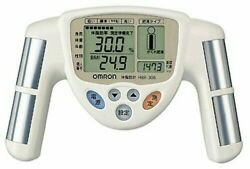 Omron body fat meter Composition amp; Scale HBF 306 W White 4975479179785 $27.58