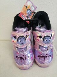 Little Girls Vampirina Light Up Shoes Sizes 7 8 9 10 11 12 Brand New with Tags $14.95