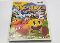 PAC MAN PARTY for Nintendo Wii System BRAND NEW AND SEALED $27.99