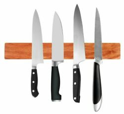 Wall Mount Magnetic Knife Holder Block Strip Kitchen Storage Organizer 13.8 Inch $21.95