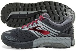 Brooks Beast 18 Mens Shoe EbonyPrimerRed multiple sizes New In Box $114.95
