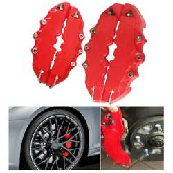 4X Brembo 3D Style Car Universal Disc Brake Caliper Covers Front  $14.99