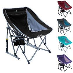 GCI Outdoor Pod Rocker Chair Outdoor Camping Rocking Seat Foldable Cup Holder $62.99