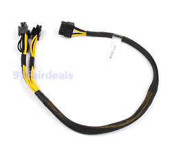 10pin to 68pin Power Adapter Cable For HP ML350 G8 Gen8 GPU PCI Express 50cm US $17.99