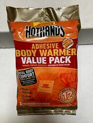 HotHands Adhesive Body Warmer Value Pack Long Lasting 8 Warmers - EXP 1023 $8.00