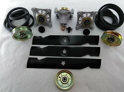 Sears Craftsman GT5000 48quot; Lawn Mower Deck Parts Rebuild Kit FREE SHIPPING $136.97
