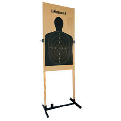 Adjustable Target Stand Base for Paper Shooting Cardboard Silhouette H 1 Pack $34.99