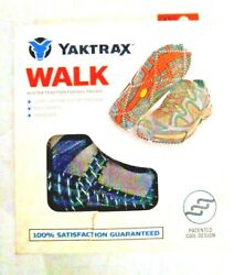 Yaktrax Walk Winter Traction Cleats for Snow and Ice Black Size XS Free Ship $14.45