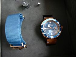 Out of Order OOO Ironbridge Blue Limited Edition Automatic 44 mm Bronze RP $901 $750.00