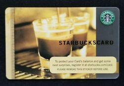 Starbucks Card #6028 Coffee As Art 2006 $5.71