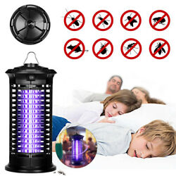 Electric UV Mosquito Killer Lamp Insect Bug Zapper Fly&Insect Control Led Light $12.99