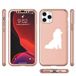 For Apple iPhone 11 360° Hard Case Screen Protector Miniature Poodle Toy Poodle $14.99