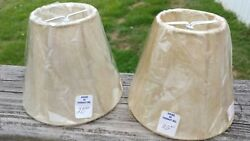 Vintage NEW House of Thebaut Lamp Shades Light Wall Fixture or Small Lamps $14.41