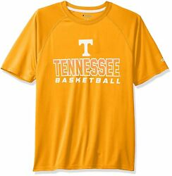 New TENNESSEE VOLUNTEERS Basketball Shirt Medium Champion Impact Tee $9.99