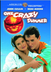 One Crazy Summer 1986 (DVD) John Cusack Demi Moore Curtis Armstrong New!