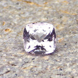 KUNZITE-NIGERIA 2.15Ct CLARITY SI1-VERY LIGHT LAVENDER COLOR-PERFECT FACETING! $24.00