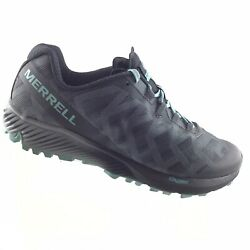 Merrell Womens Agility Synthesis Flex Gray Black Hiking Women's 11 Shoes RDS1 $44.65