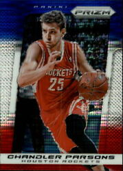 2013 14 Pan Prizm Prizms Blue White Red Mosaic Monster Box #37 Chandler Parsons $5.00
