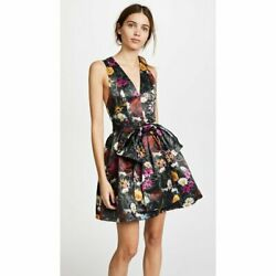 Alice Olivia Daralee Floral Cocktail Party Dress $125.00