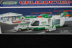 2001 Hess Helicopter with Motorcycle and Cruiser S5826 $39.99