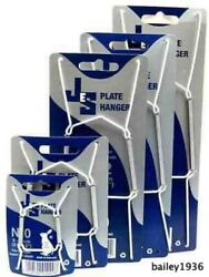 JES PLATE HANGER WHITE VINYL WIRE CHOICE OF 5 SIZES 3.5