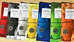 CHUCK BY ASHER GOLF GLOVES RIGHT HANDED GOLFER FITS ON LEFT HAND 7 COLORS $12.95