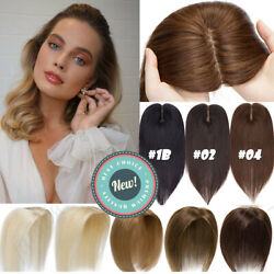 Many ColorLength Crown Real Human Hair Women Topper Hairpiece Wig Clip InOn US $32.93