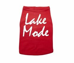 LAKE MODE DOG SHIRT PUPPY Outfit Pet APPAREL CANINE Wear WATER Dog $18.99