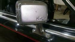 87-88 Cadillac Deville Brougham Passenger Right Chrome Door Mirror (Cable) $144.00