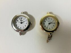 Vintage Legacy Women#x27;s Watch Lot of 2 Gold Silver Toned $19.99