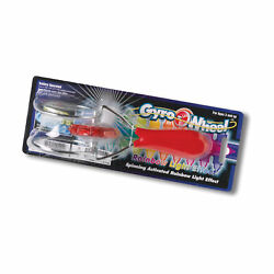 New Tedco Toys Lighted Gyro Wheel Ages 3 1 player $12.50