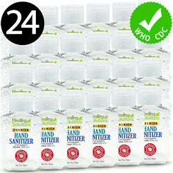 Hand Sanitizer Gel 75% Alcohol Meets WHOCDC Standards Scent-Free 2oz - 24 PACK $39.99