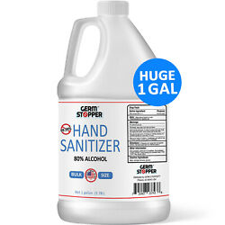 Hand Sanitizer Antimicrobial 80% Alcohol MEETS CDC WHO GUIDELINES 1 GALLON $19.99