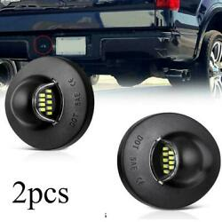 2Pcs LED License Plate Light Lamp Assembly Replacement For Ford F150 F250 F350 $12.99