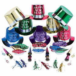 Get The Party Started New Year#x27;S Eve Party For 25 Party Supplies 50 Pieces $34.44