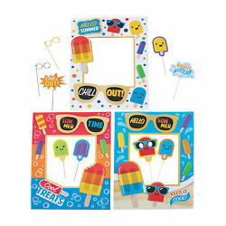Ice Pop Photo Props With Glitter Apparel Accessories 12 Pieces $26.49