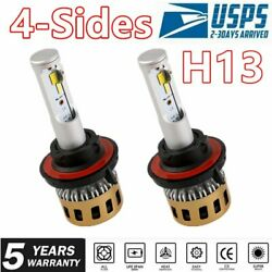 4Side H13 9008 LED Headlight Kit 2000W Hilow Beam Bulbs for Chevy Cruze 11-201