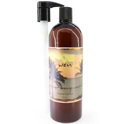 Wen Cleansing Conditioner Summer Mango Coconut 32 oz with Pump by Chaz Dean  $54.00