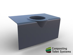 Composting Toilet Benchseat for compost toilet DIY AU $220.00