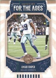 2019 Panini Legacy For the Ages #19 Amari Cooper $0.99