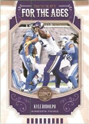 2019 Panini Legacy For the Ages #11 Kyle Rudolph $0.99
