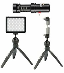 Rizer LED Light Kit with Rode Videomic ME L and Phone Mount $164.95