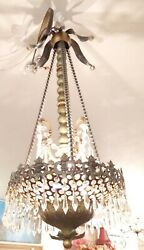 Mid Century Modern Bling Chandelier 37quot; Tall $895.00
