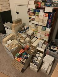 Huge Baseball Card Collection Storage Unit Find Over 3 Million Cards Lot Vintage $49.95