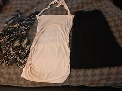 Sexy Short Summer dresses Lot of 3 size M S great condition $10.99